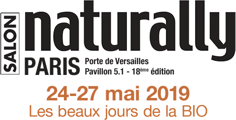 Logo salon NATURALLY 2019