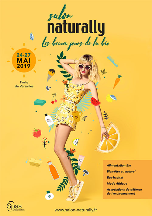 Affiche salon NATURALLY 2019